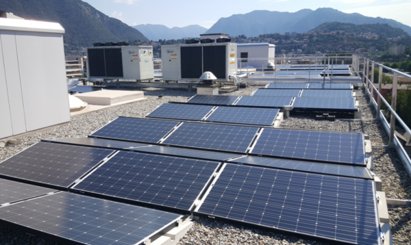 Produzione energia elettrica fotovoltaica