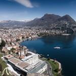 vista aerea Lugano
